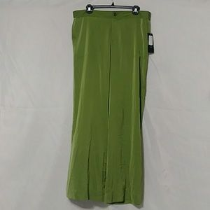 NWT Womens Lauren Ralph Lauren Green Lounge Pants